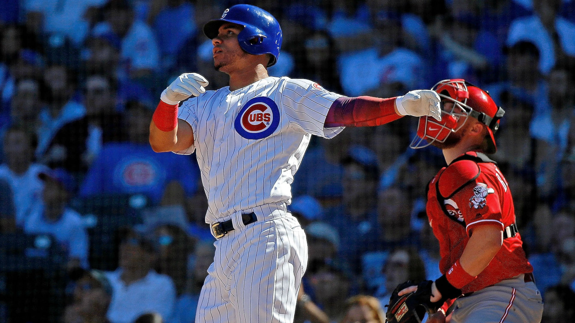 Willson Contreras injury update: Cubs catcher placed on IL as 'precautionary' move