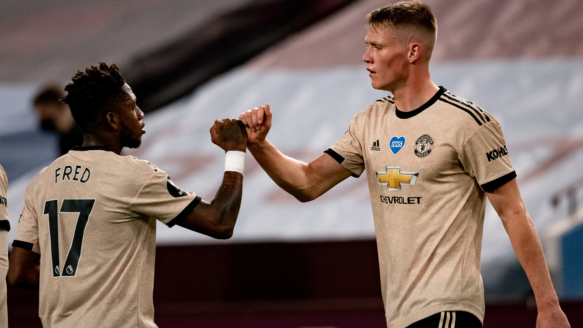 Fred and Scott McTominay