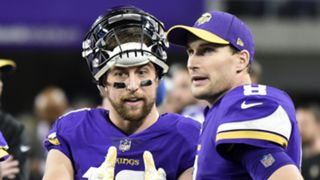 Adam Thielen and Kirk Cousins - cropped