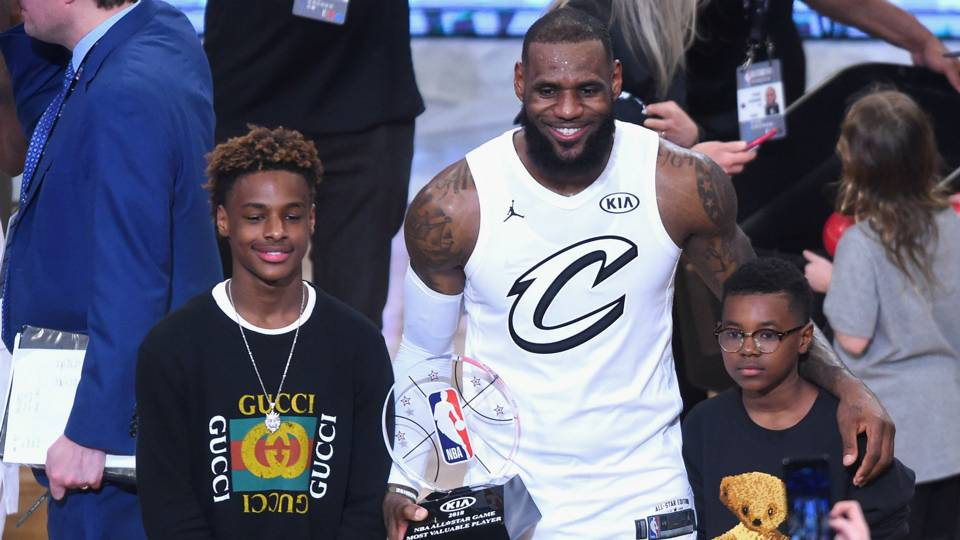 Bronny James' sold-out AAU game canceled after security, parents argue
