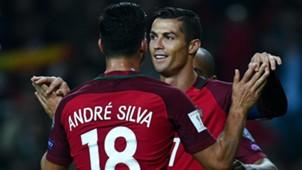 Silva and Ronaldo - Cropped