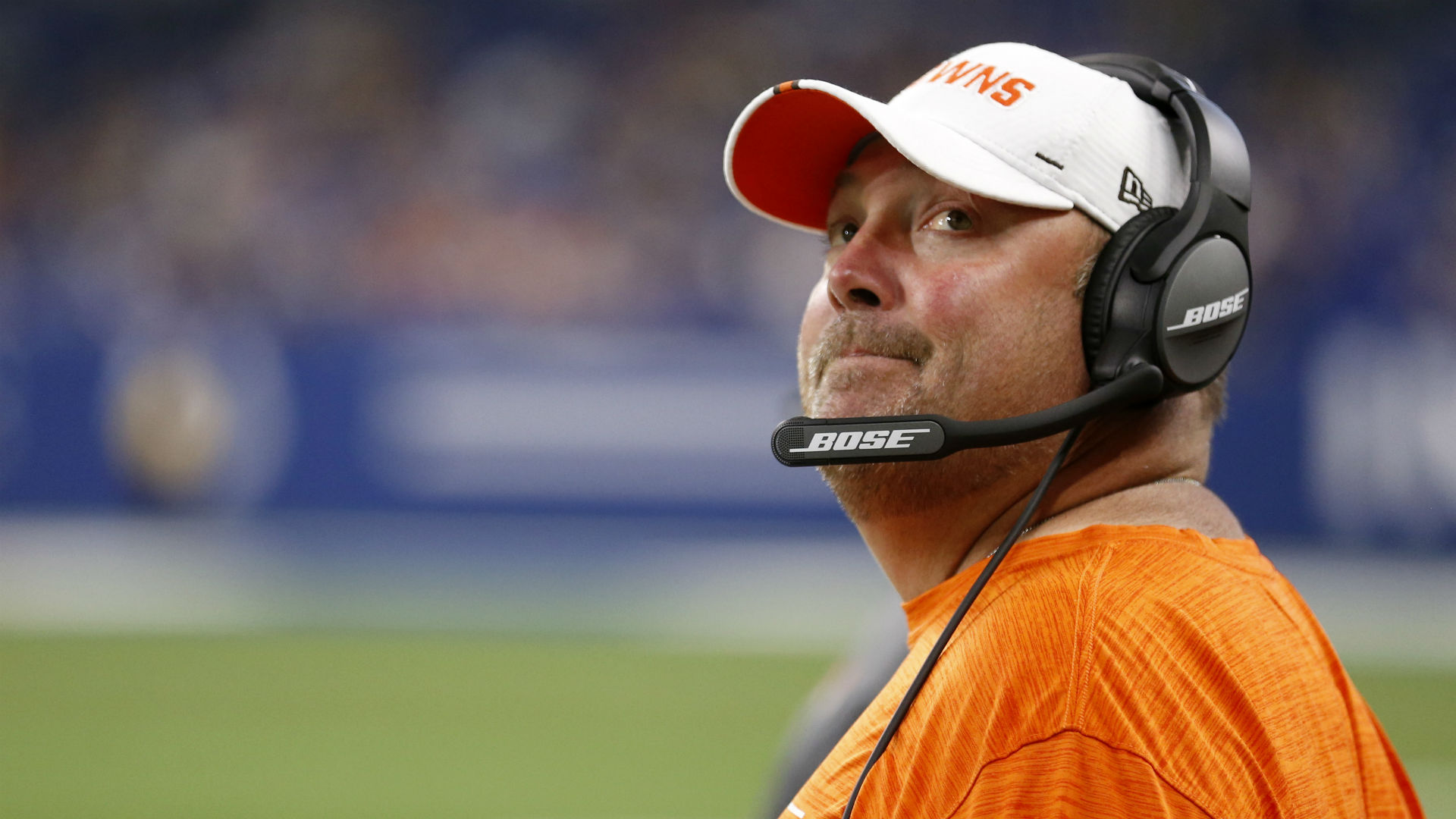 Browns coach Freddie Kitchens frustrated with offense after preseason loss