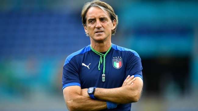 Roberto Mancini is targeting a place in the semi-finals of this summer's Euros