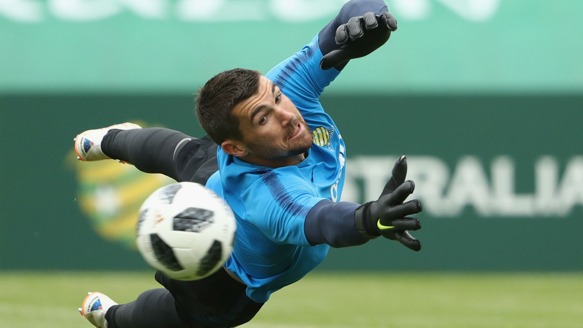 Australia goalkeeper Mathew Ryan