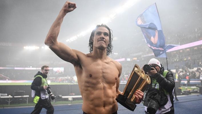 Edinson Cavani is a serial winner after claiming six-straight Ligue 1 titles at Paris Saint-Germain