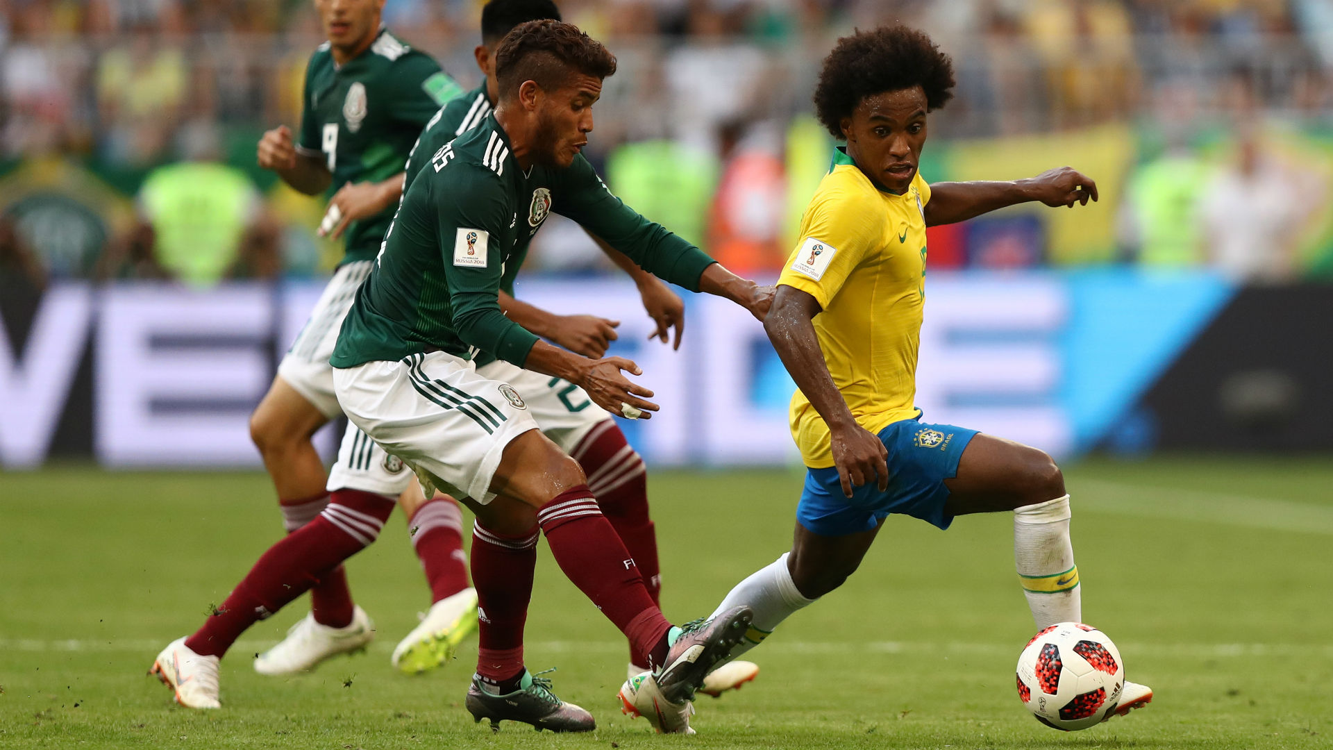 Willian Warns Hazard Ahead of Brazil-Belgium Battle