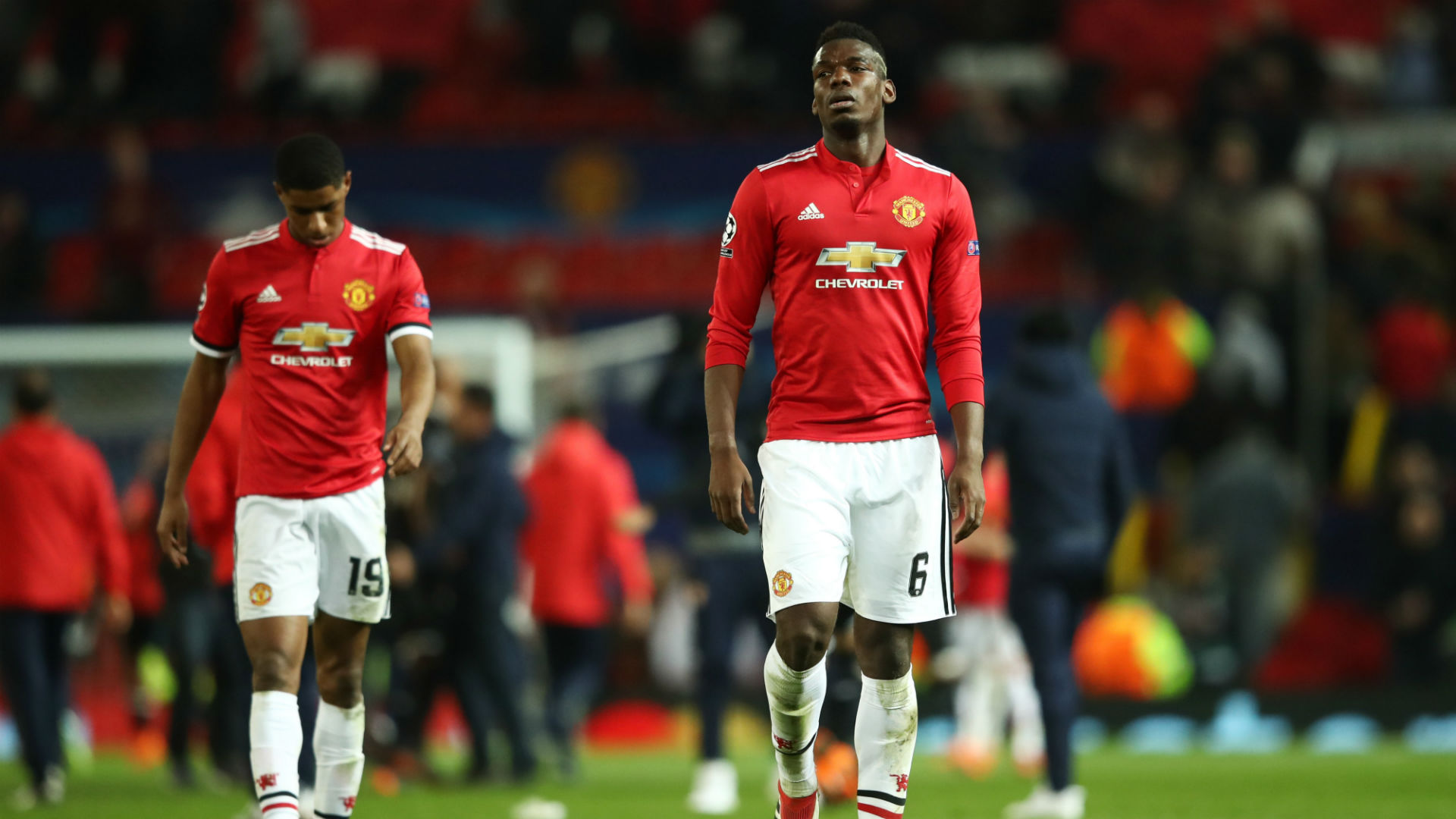 Ryan Giggs demands more from Anthony Martial, Paul Pogba