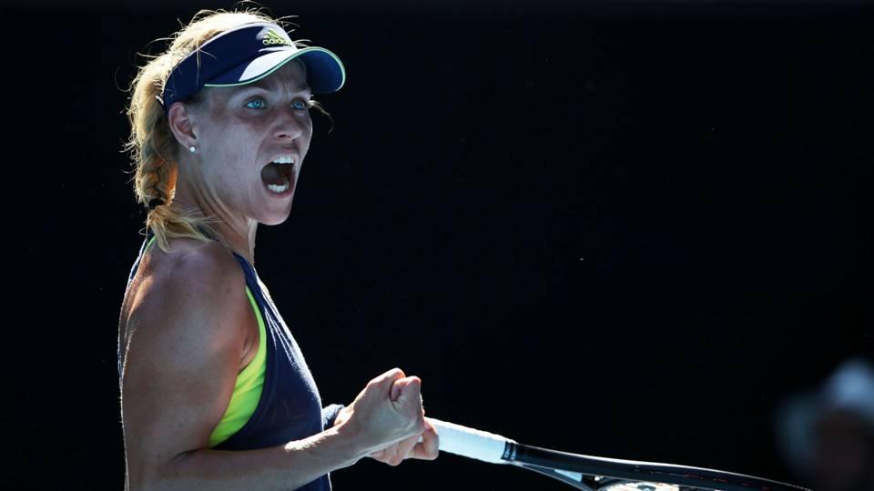 Australian Open 2018: Angelique Kerber sets up Maria Sharapova conflict, misery for Garbine Muguruza