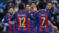 Lionel Messi Luis Suarez - cropped