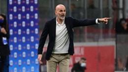 Milan coach Stefano Pioli
