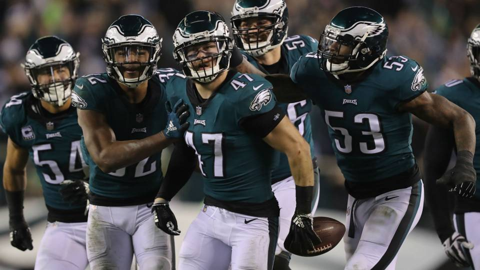 Eagles' Kamu Grugier-Hill apologizes to Doug Pederson for 'choking' comment about Cowboys