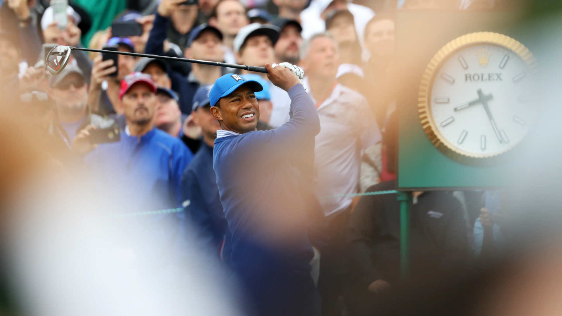 tiger woods trying to  u0026 39 hang in there u0026 39  at u s  open