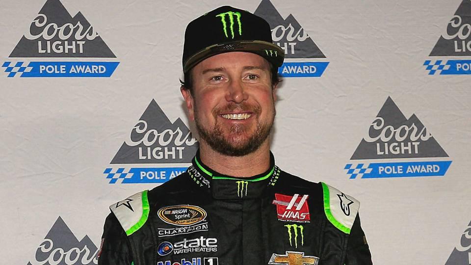 NASCAR starting lineup at Talladega: Kurt Busch wins pole as Stewart-Haas Racing sweeps top 4