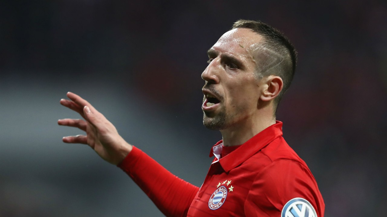 Franck Ribery has treble feeling at Bayern Munich