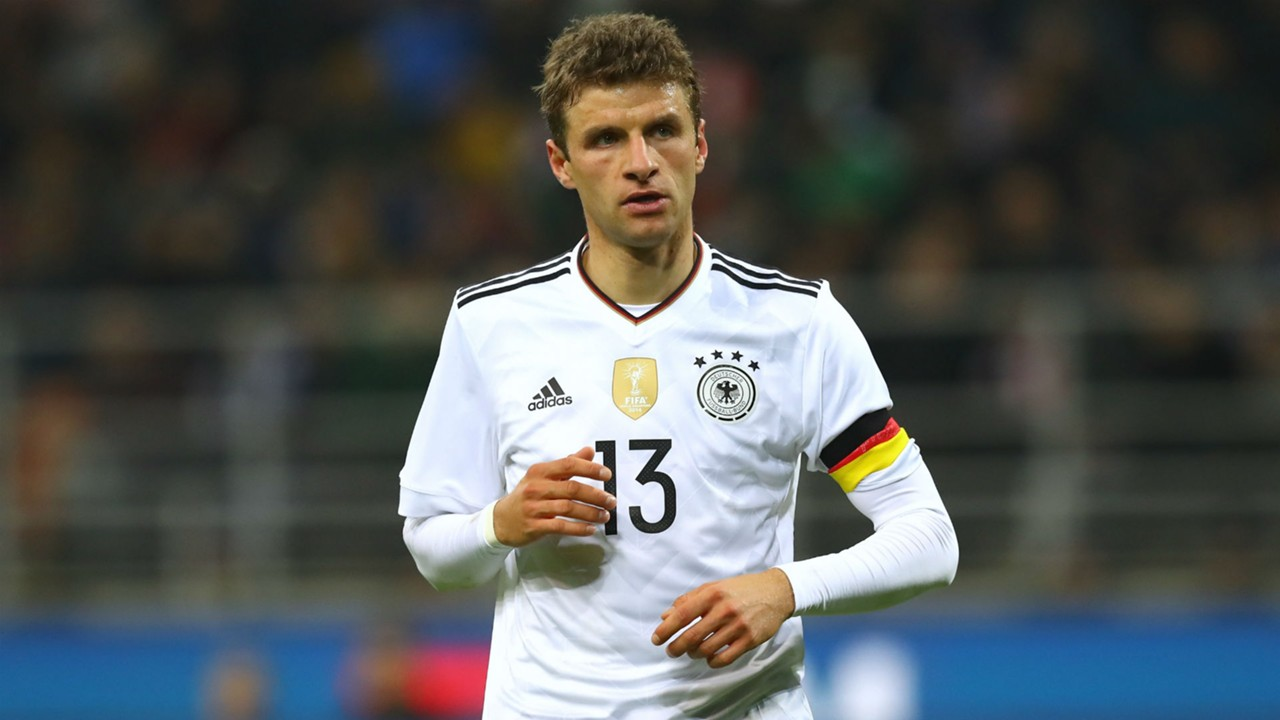 Image result for thomas muller germany 2017