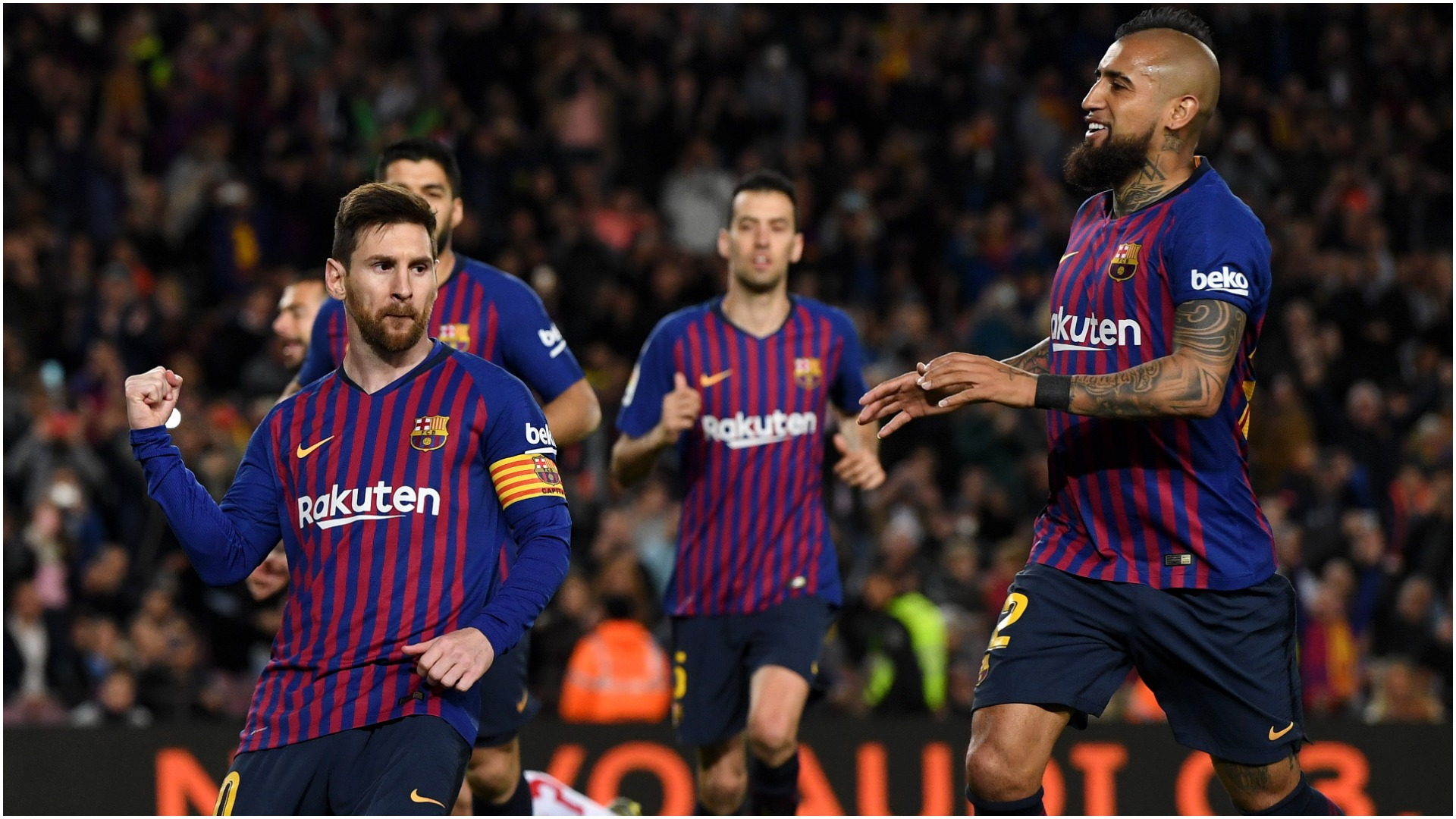 Messi scores, assists as Barca keeps comfortable Liga lead