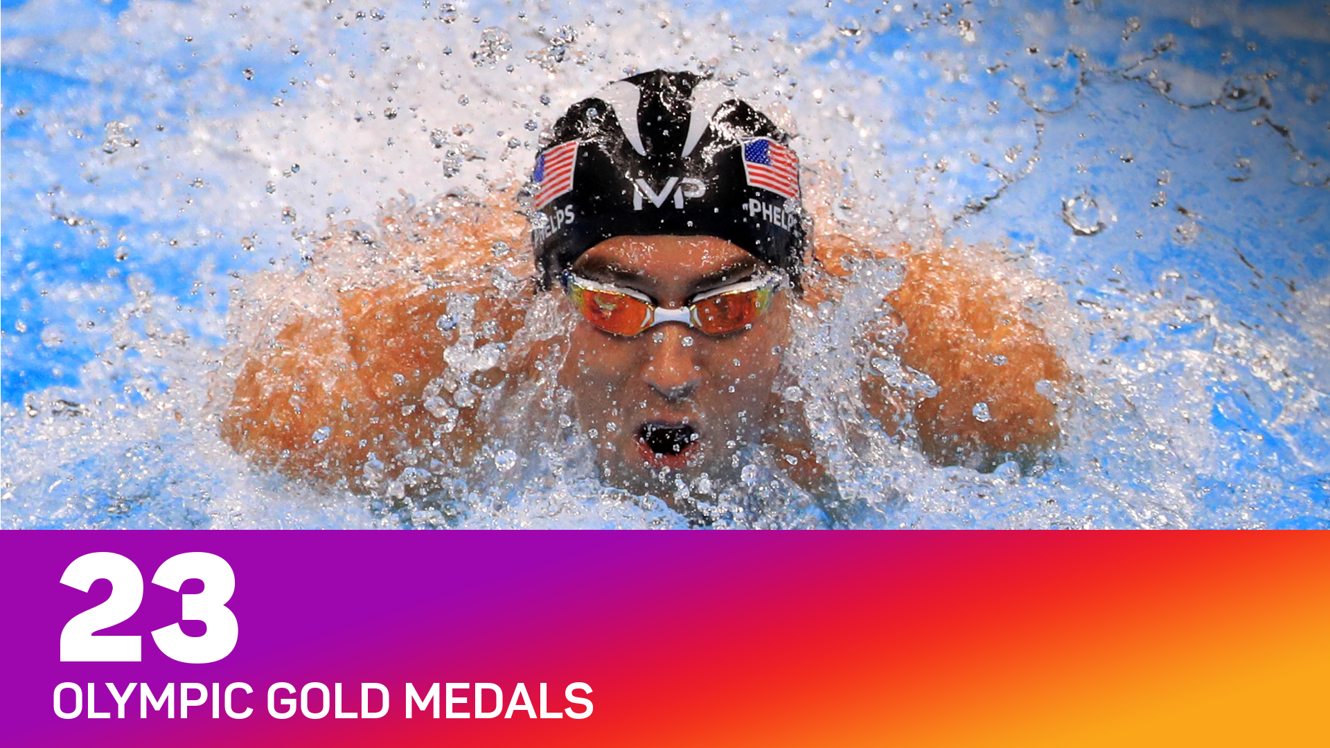 Michael Phelps is the all-time record holder for Olympic golds