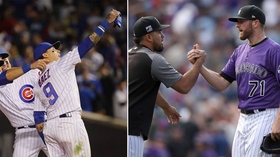 MLB wrap: Rockies, Cubs now in full control of their destinies