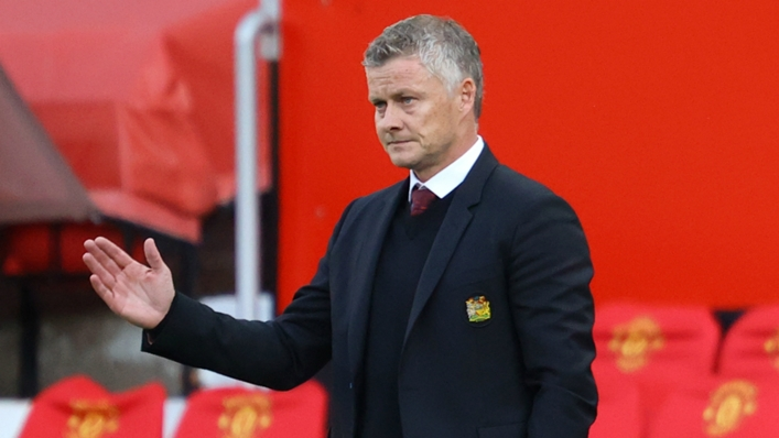 Ole Gunnar Solskjaer is under pressure after an inconsistent start to Manchester United's season