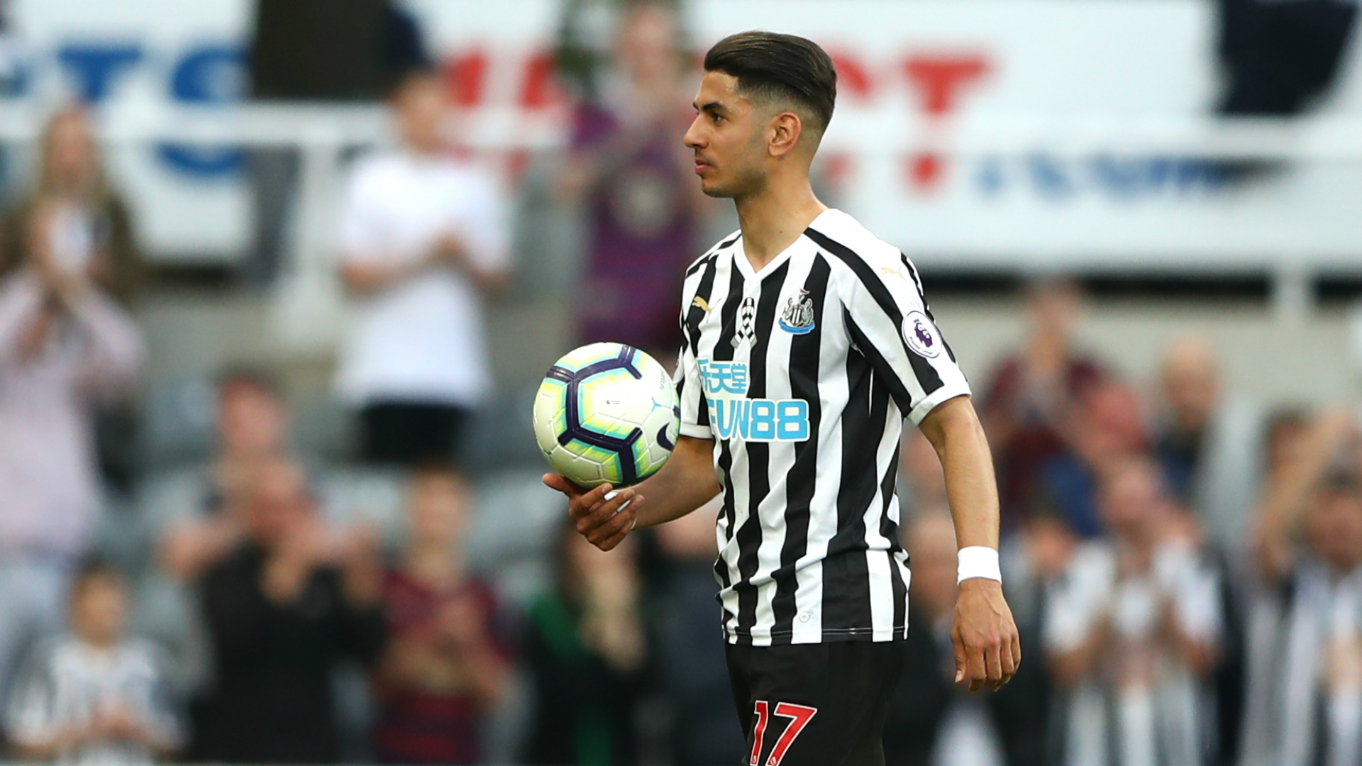 Ayoze Perez hits a hat-trick as Newcastle pass 40-point barrier