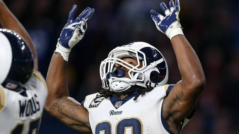 Rams sign RB Todd Gurley to 4-year extension