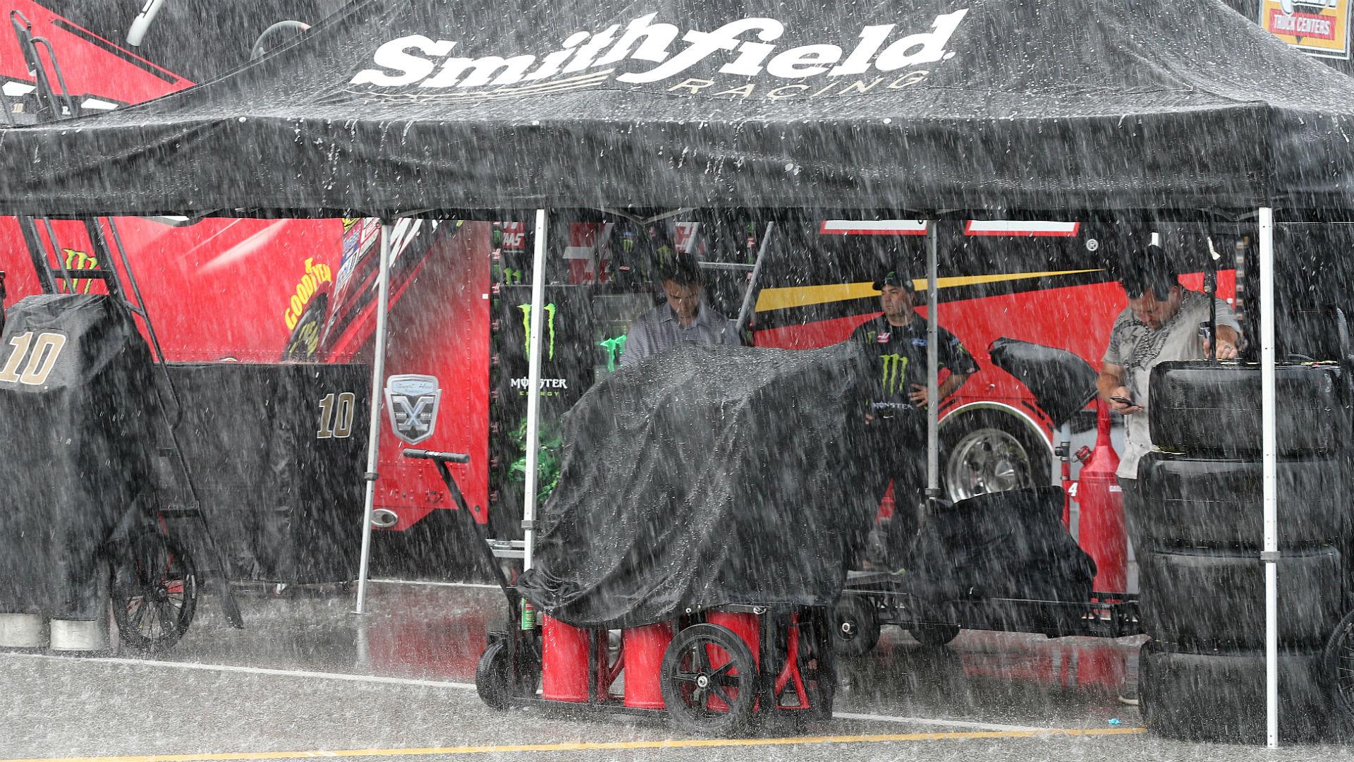 NASCAR at Daytona: Rain postpones Coke Zero Sugar 400 to Sunday