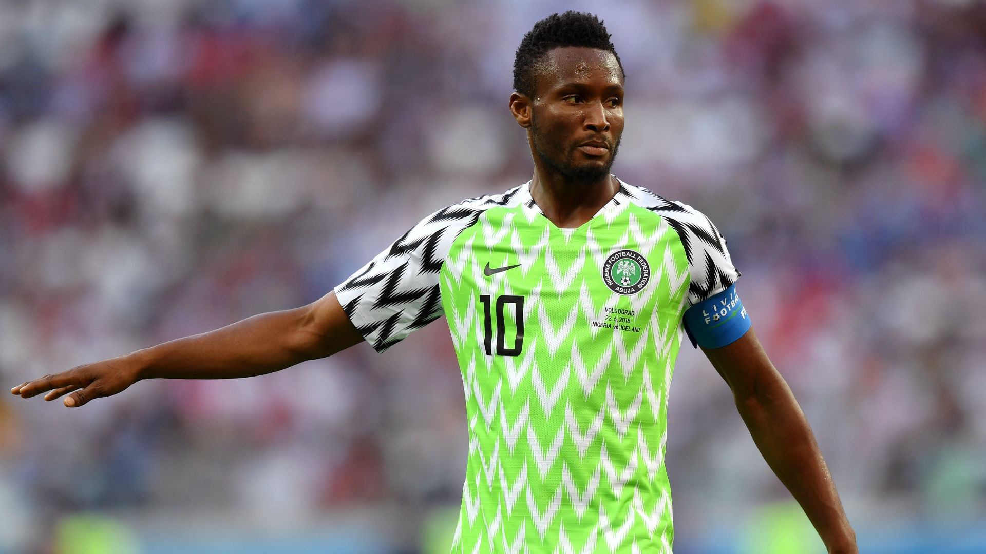 Nigeria's Mikel retires from global football
