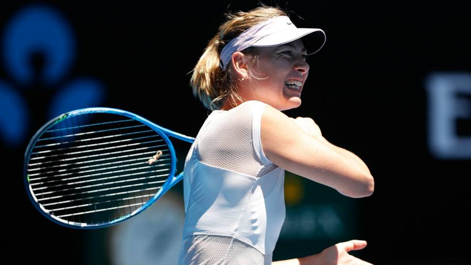 2018 Australian Open: Maria Sharapova victorious in return