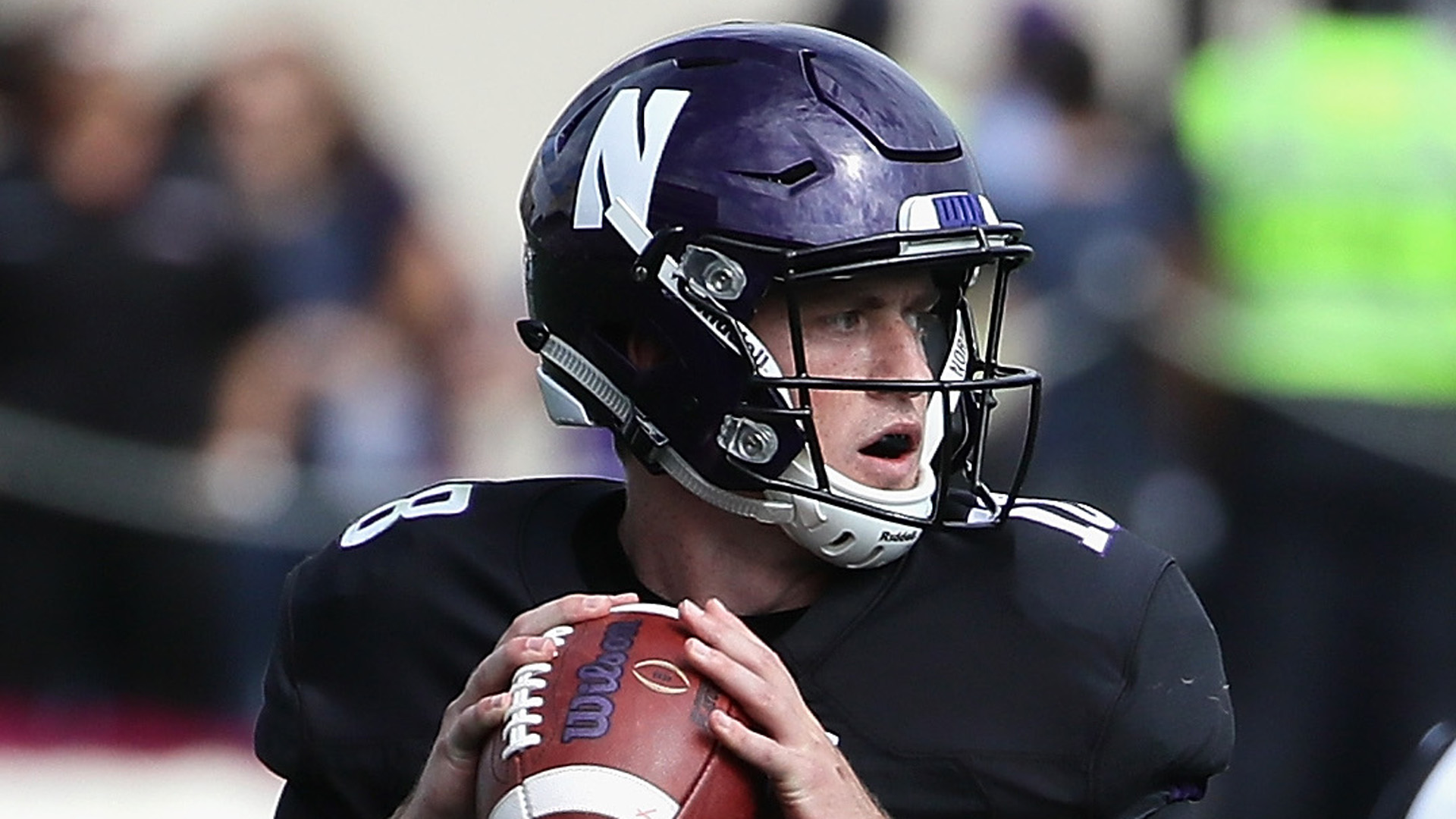 Northwestern's Clayton Thorson suffers scary knee injury, scheduled for MRI Saturday