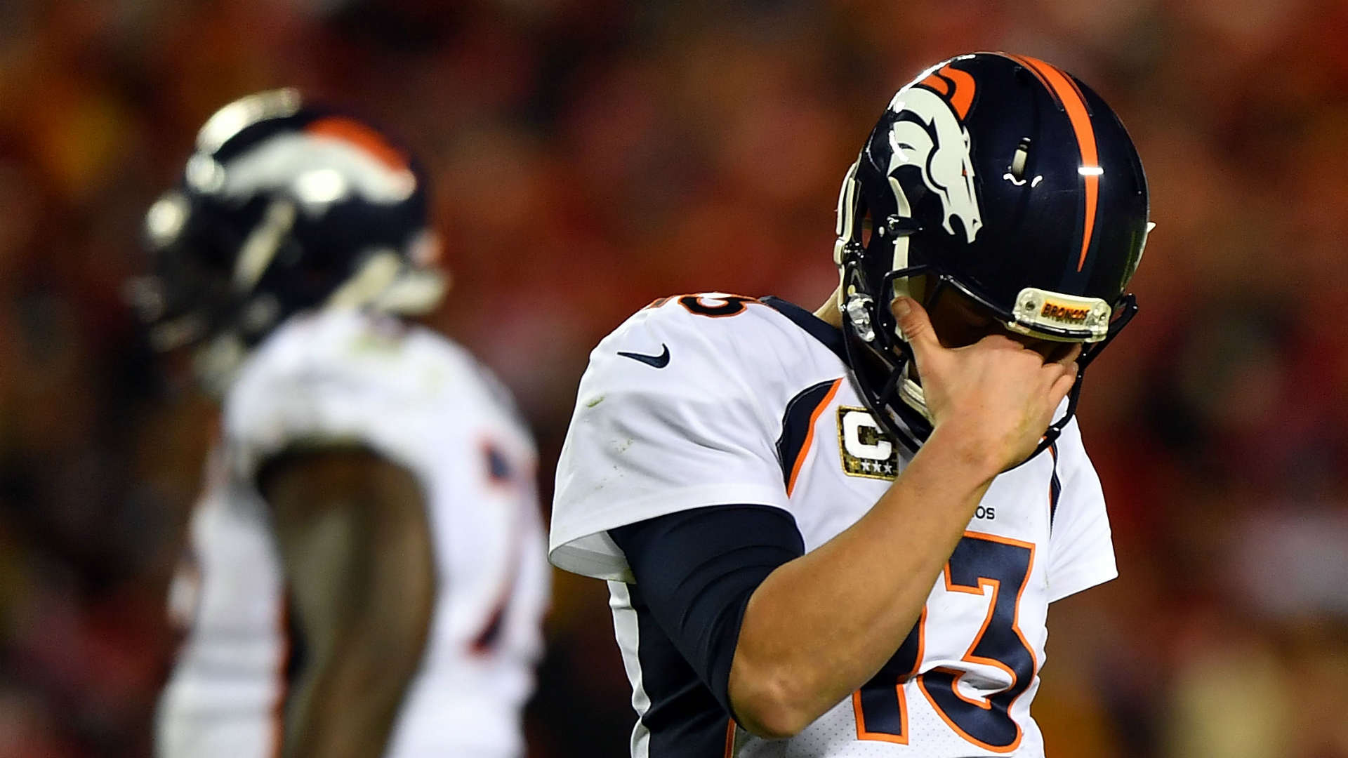 Broncos QB Trevor Siemian admits he's pressing, 'out of sync'