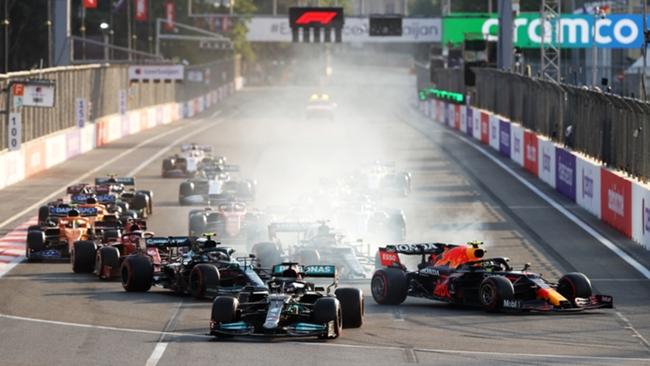 Lewis Hamilton made a big error in Baku