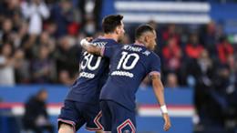 PSG's Lionel Messi and Neymar
