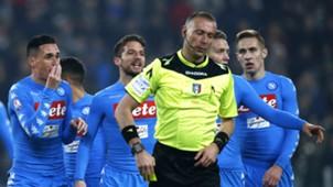 Italian referee Paolo Valeri