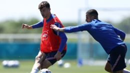 Mason Mount is relishing a midfield battle with Luka Modric