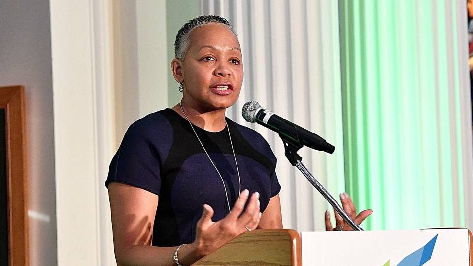 WNBA president Lisa Borders resigning to become president of Time's Up