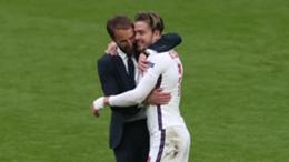 Gareth Southgate embraces Jack Grealish