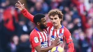 Lemar hopeful Griezmann stays at Atletico