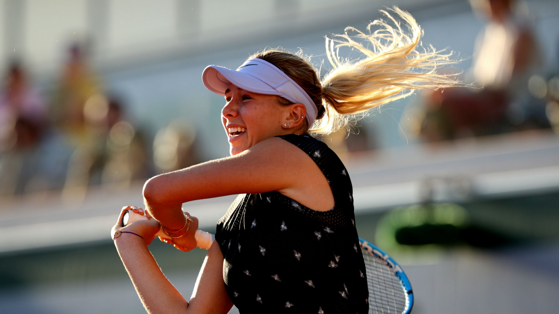 Amanda Anisimova out of U.S. Open after father dies