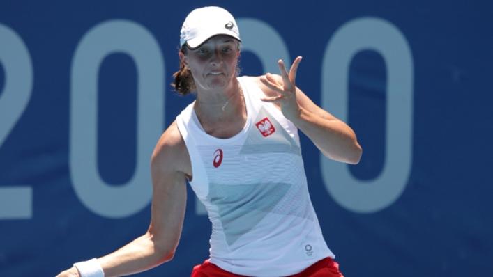 Iga Swiatek defeated Yulia Putintseva on Wednesday at the Ostrava Open