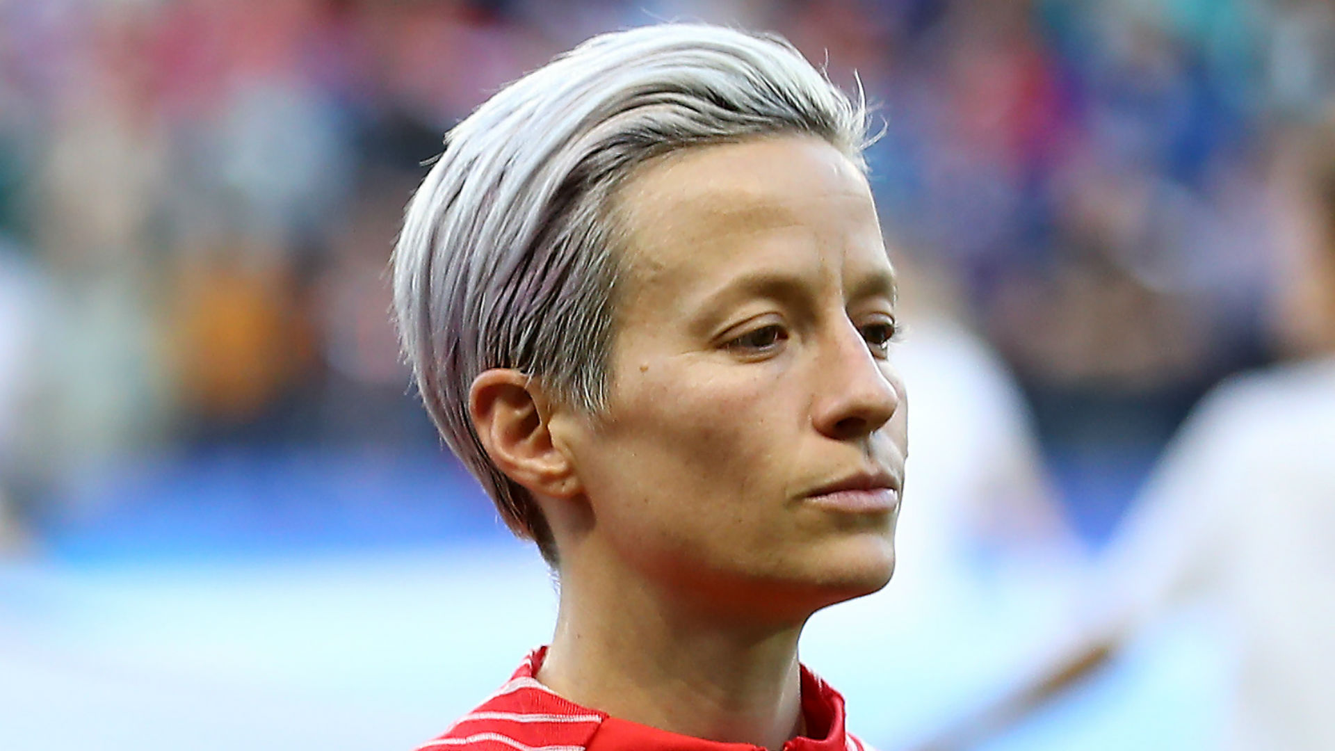 Rapinoe shouldn't protest during anthem