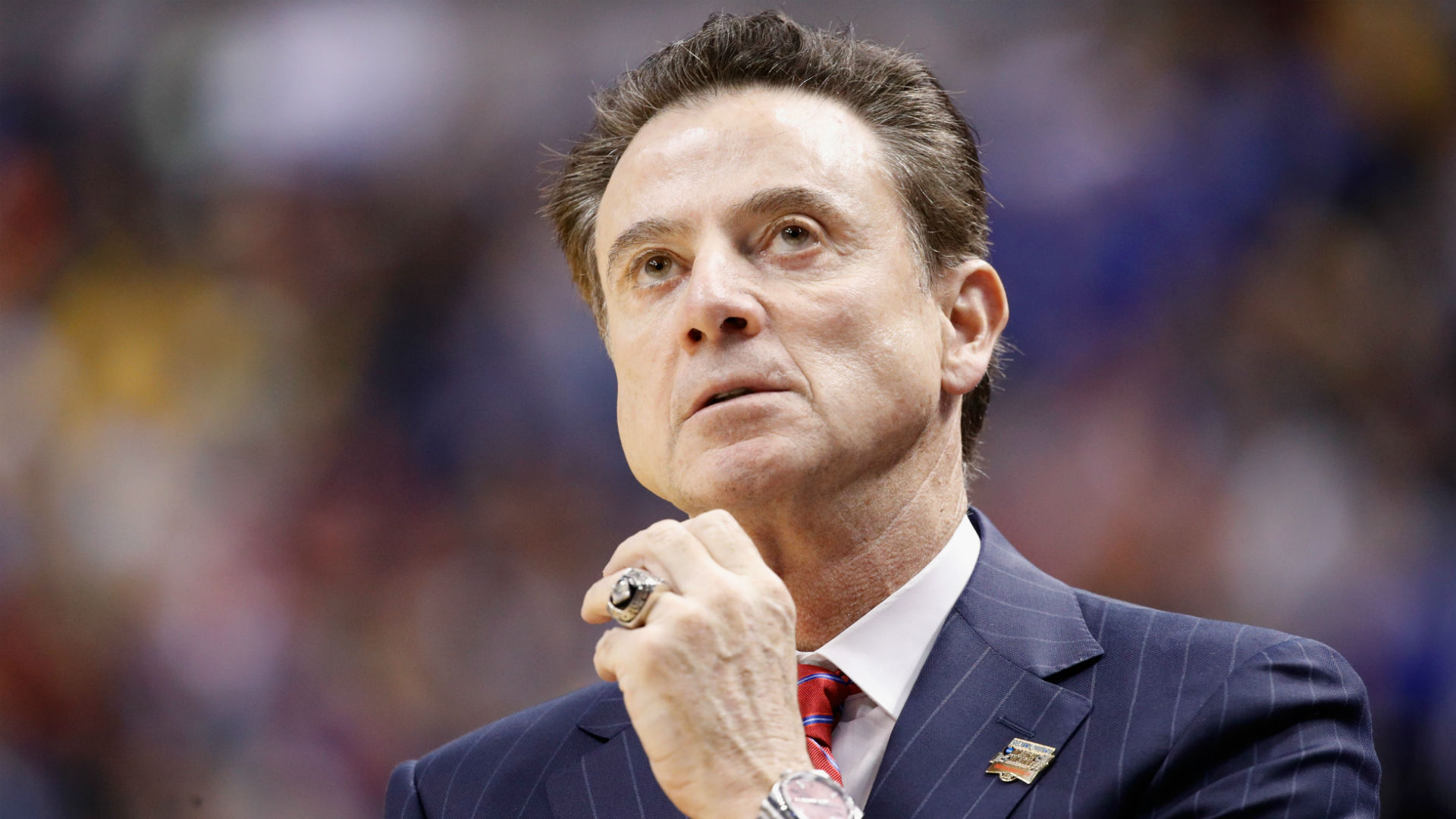 Rick Pitino continues to deny any knowledge of NCAA recruiting wrongdoing