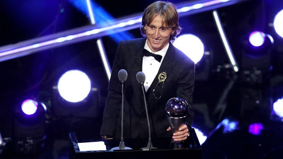 Luka Modric beats Cristiano Ronaldo, Mohamed Salah for FIFA top player honor