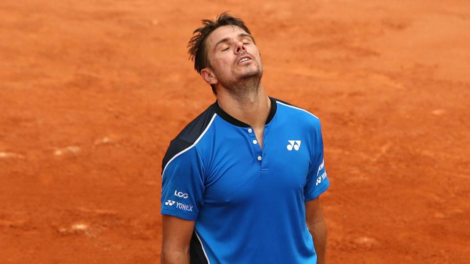 French Open 2018: Former champ Stan Wawrinka out in Paris as knee trouble continues