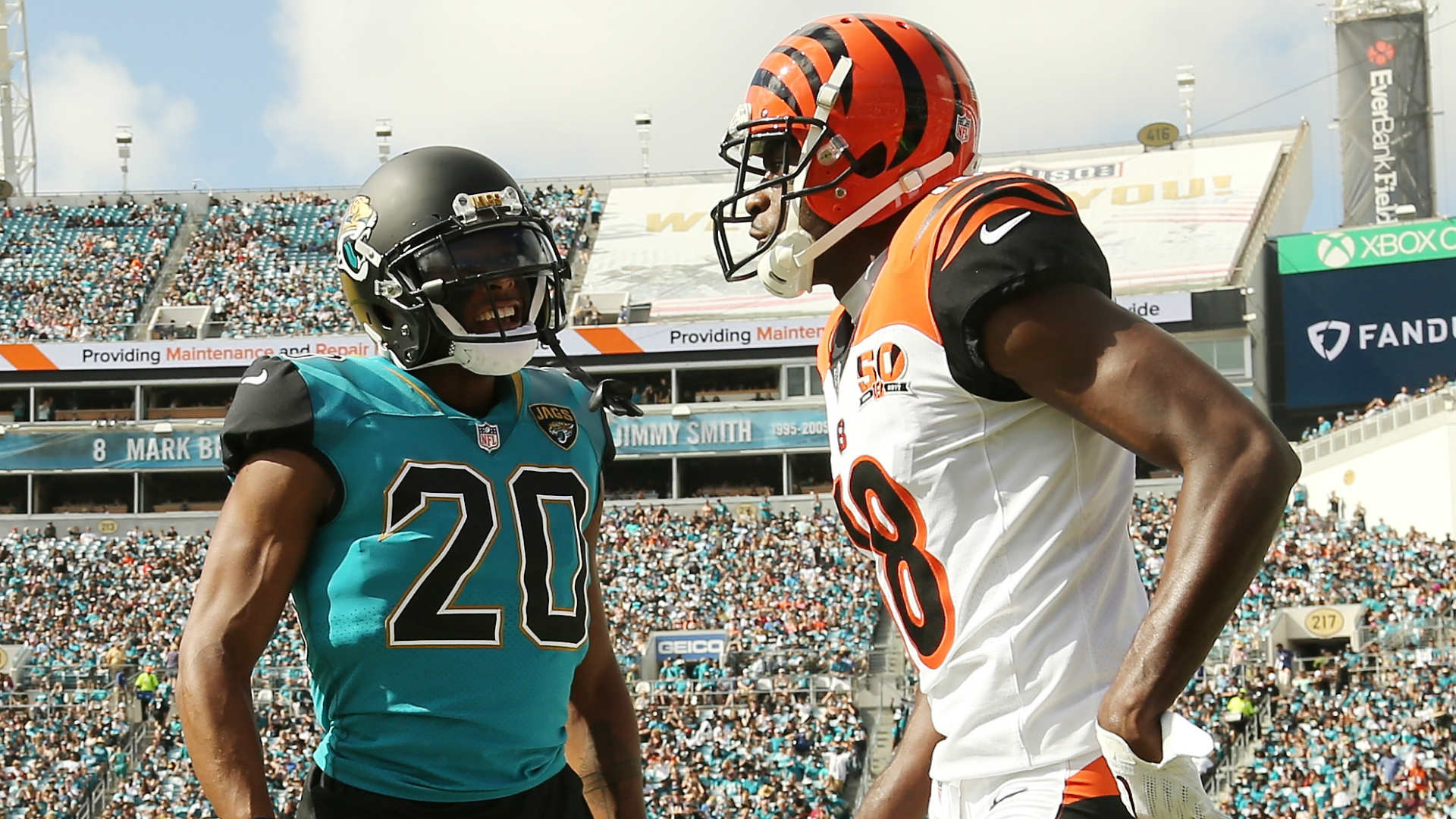 A.J. Green, Jalen Ramsey won't face suspensions for brawl