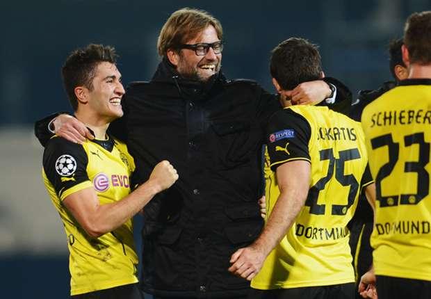 Marseille 1-2 Borussia Dortmund: Last-gasp BVB scrape through