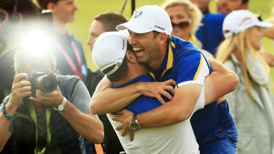 Ryder Cup 2018: Emotional Sergio Garcia grateful for Thomas Bjorn's faith