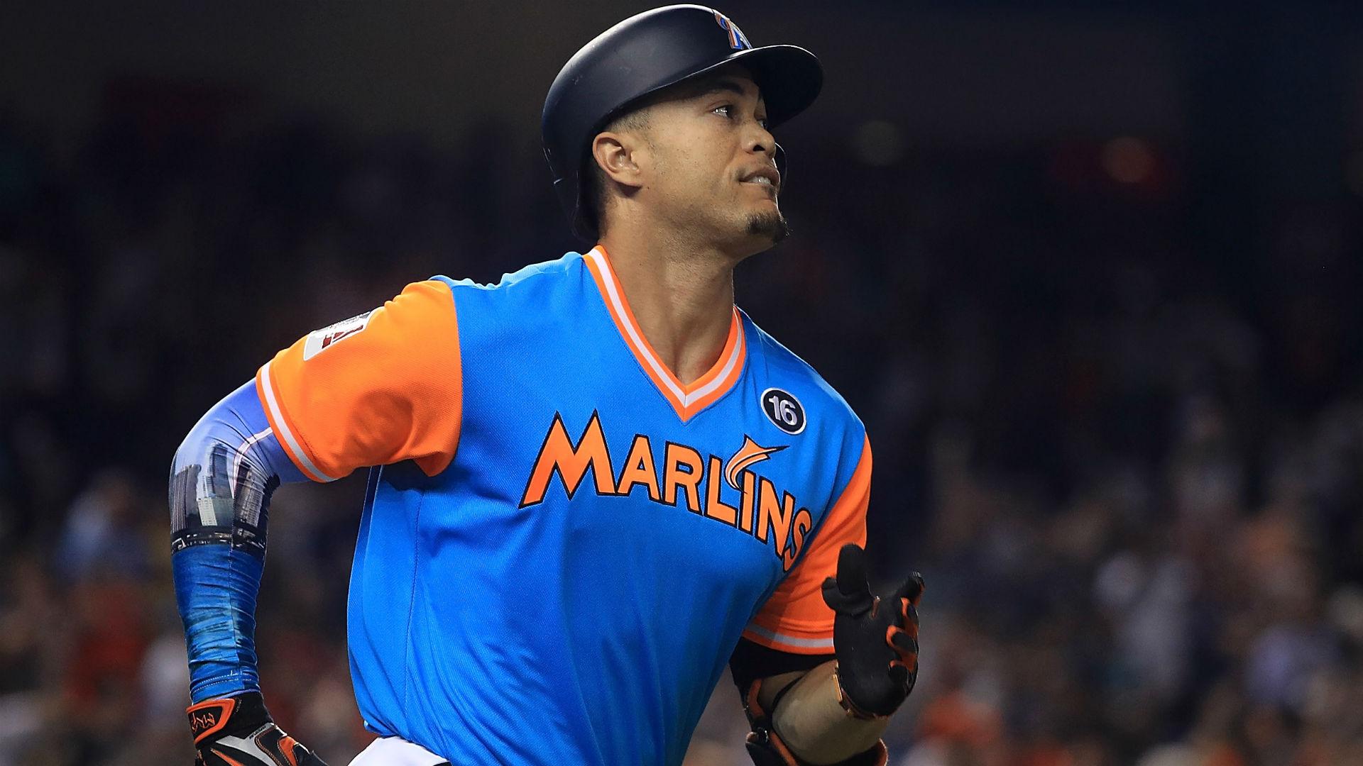 MLB trade rumors: Marlins CEO Derek Jeter says all Giancarlo Stanton talk 'speculation'