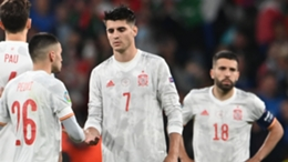 Alvaro Morata, whose miss proved crucial for Spain