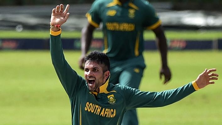 South Africa stand-in captain Keshav Maharaj