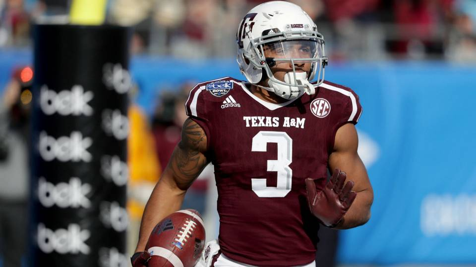 Cardinals' second-round pick Christian Kirk reportedly arrested prior to draft